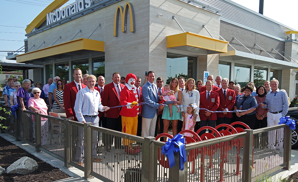 New Ash St. McDonald's Ribbon Cutting