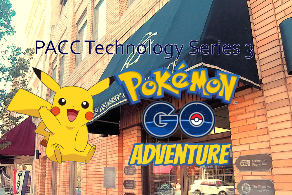 Join the hunt with the PACC Technology Series 3 : Pokemon Go Adventure!
