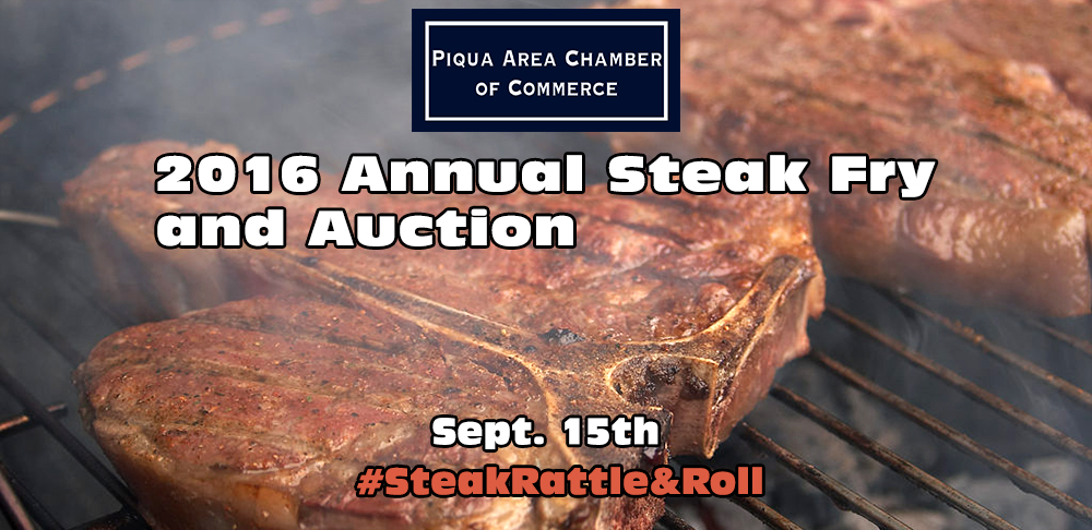 The 2016 Steak Fry and Auction is coming up on September 15th!