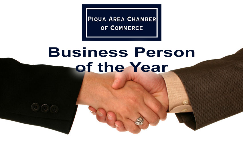 Nominations are being accepted for the Business Person of the Year