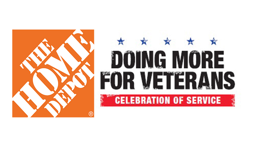 "The Home Depot ""Doing More for Veterans"" Crew Made a Difference in Piqua Today!"