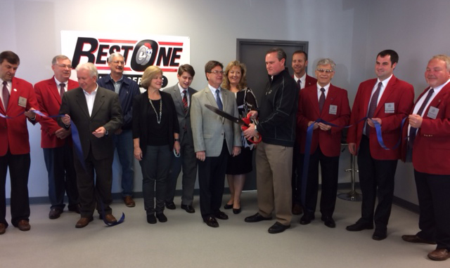 Best One Tire Ribbon Cutting