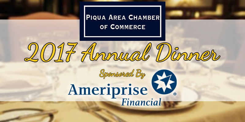 Piqua Area Chamber of Commerce 2017 Annual Dinner