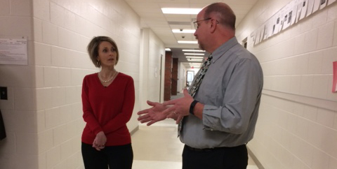 LDP Tours Upper Valley Career Center and Piqua Central Intermediate School
