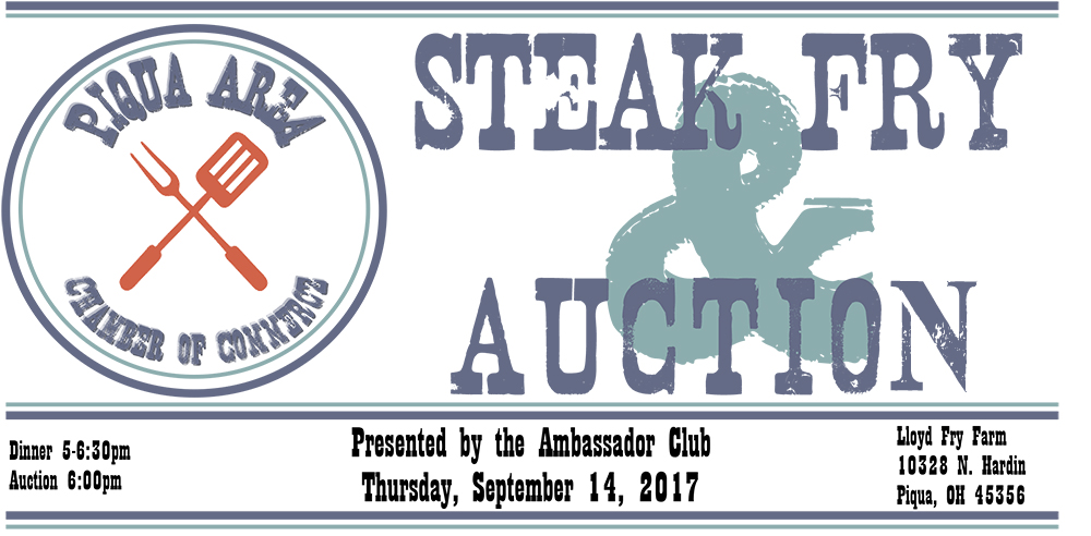 Get your tickets for the 2017 Steak Fry & Auction!