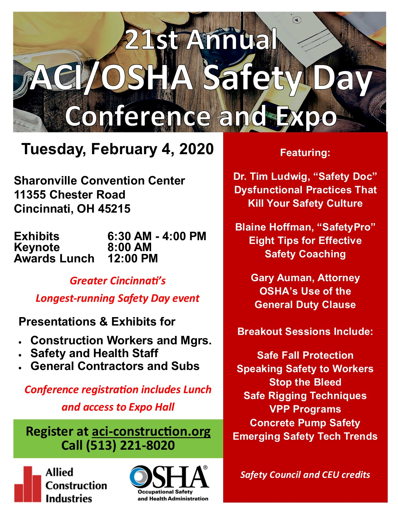 21st Annual Safety Day | February 4
